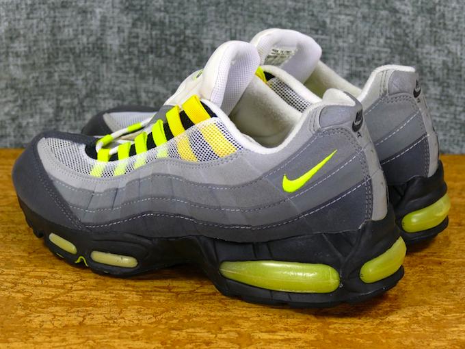 Nike Air Max 95 Sz 13 Grey/Neon original vintage