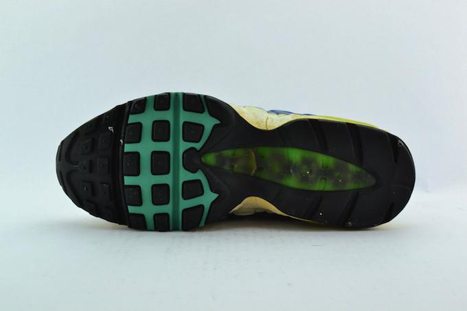 Nike Air Max 95 White/New-Green/Blue-Slate 1995