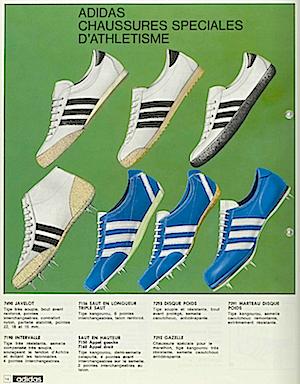 アディダス・ガッツレー・ビンテージ・カタログ 1968(adidas gazelle vintage catalogue 1968)