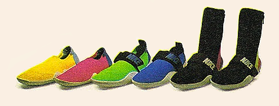 Nike Aqua Sock & Aqua Sock Too, Aqua Boot (1989)