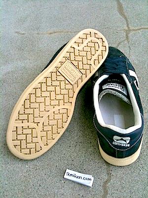 コンバース プロレザー OX スエード ネイビー(converse pro leather OX Navy suede)