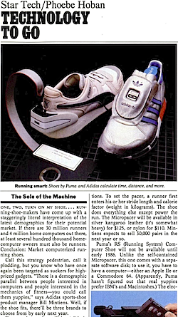 adidas micropacer & Puma RS Computer Shoe
