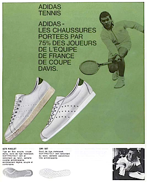 adidas catalogue France,1968
