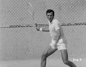 全仏プロテニス選手権のロバート・ハイレット