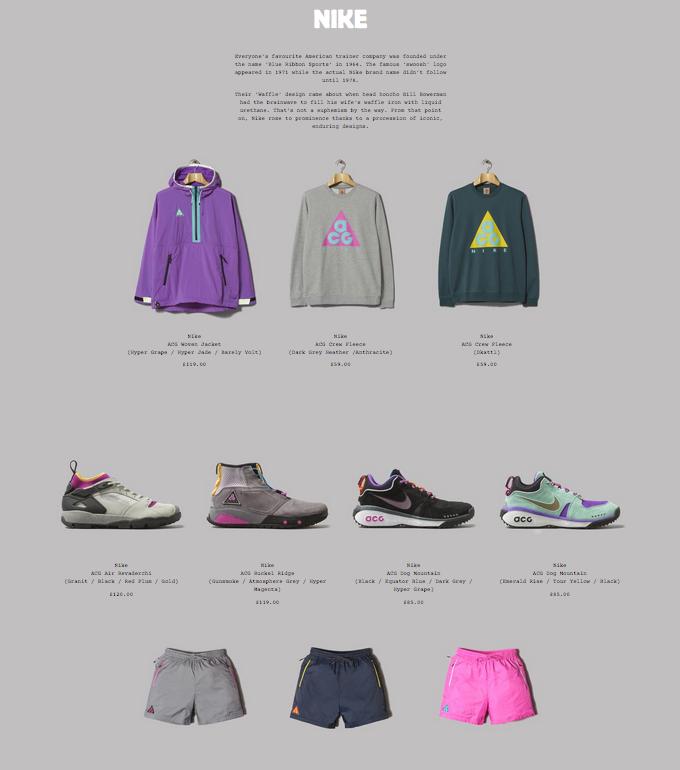 Nike ACG 2018