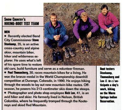 via Snow Country Magazine (1993)