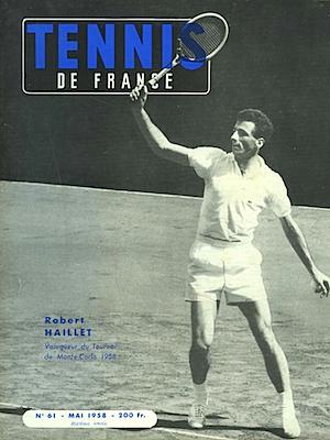TENNIS DE FRANCE MAI 1958