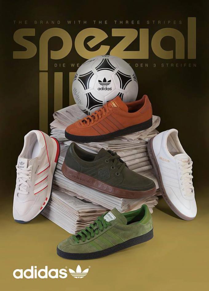 adidas Spezial 2014AW footwear