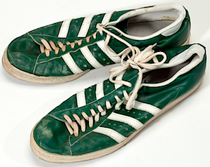 adidas superstar green leather no shell