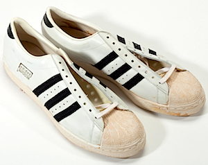 adidas superstar white leather shell