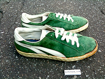 unknown green suede sneaker John Havlicek