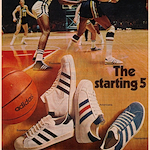 """The starting 5"" アディダス・スーパースター(Adidas Superstar) / プロモデル(Promodel) / トーナメント(Tournament) / アメリカーナ(Americana)"