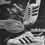 """TWO POINTS AHEAD … "" アディダス・シューティングスター(Adidas Shooting-Star) / アディダス・スーパーグリップ(Adidas Supergrip)"
