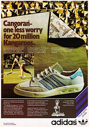 adidas B.J.K.II Cangoran Tennis shoes