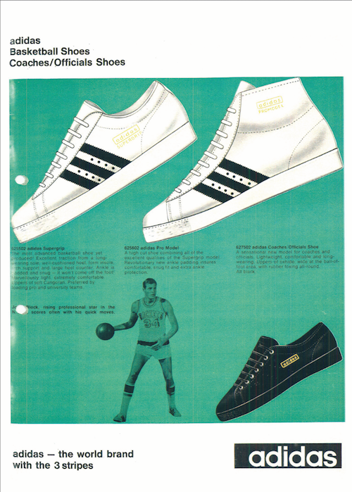 adidas Basketball Shoes and John Block (1968-1969)