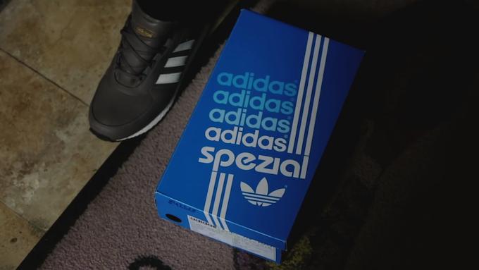adidas Spezial shoe box
