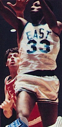 Charlie Scott and Art Becker, ABA All-Star 1971-1972