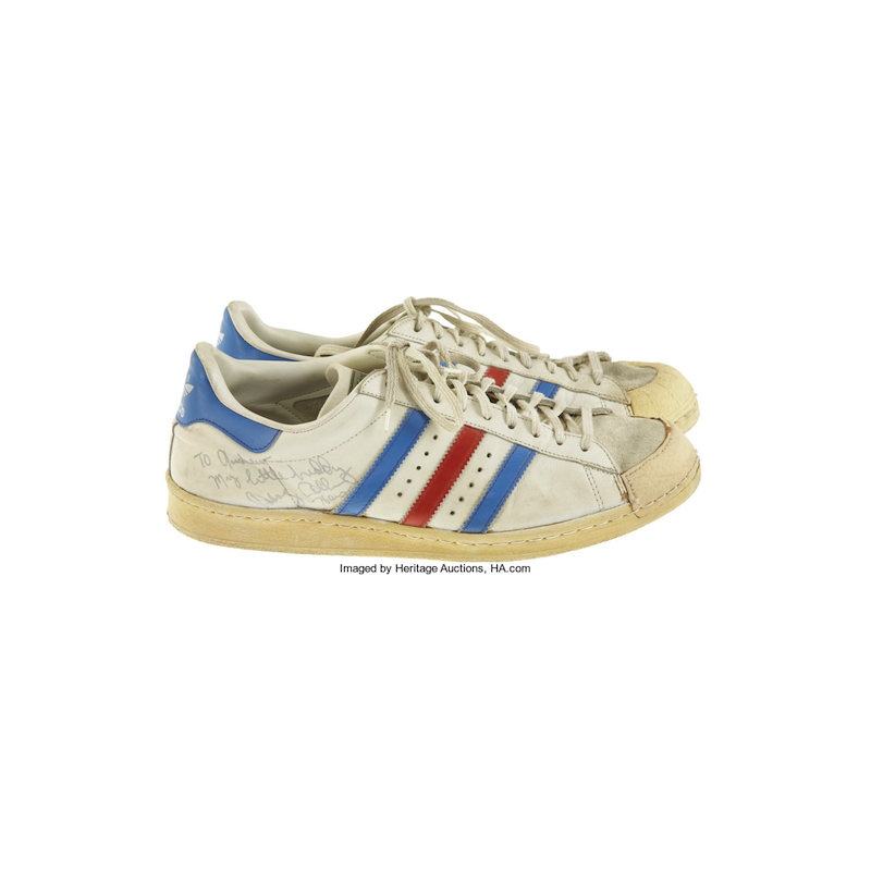 adidas Superstar : Doug Collins, 76ers (Late 1970's)