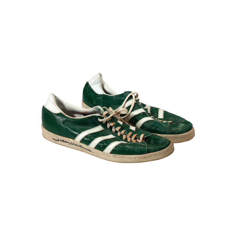 adidas Superstar : John Havlicek's signed, game worn (1970s)