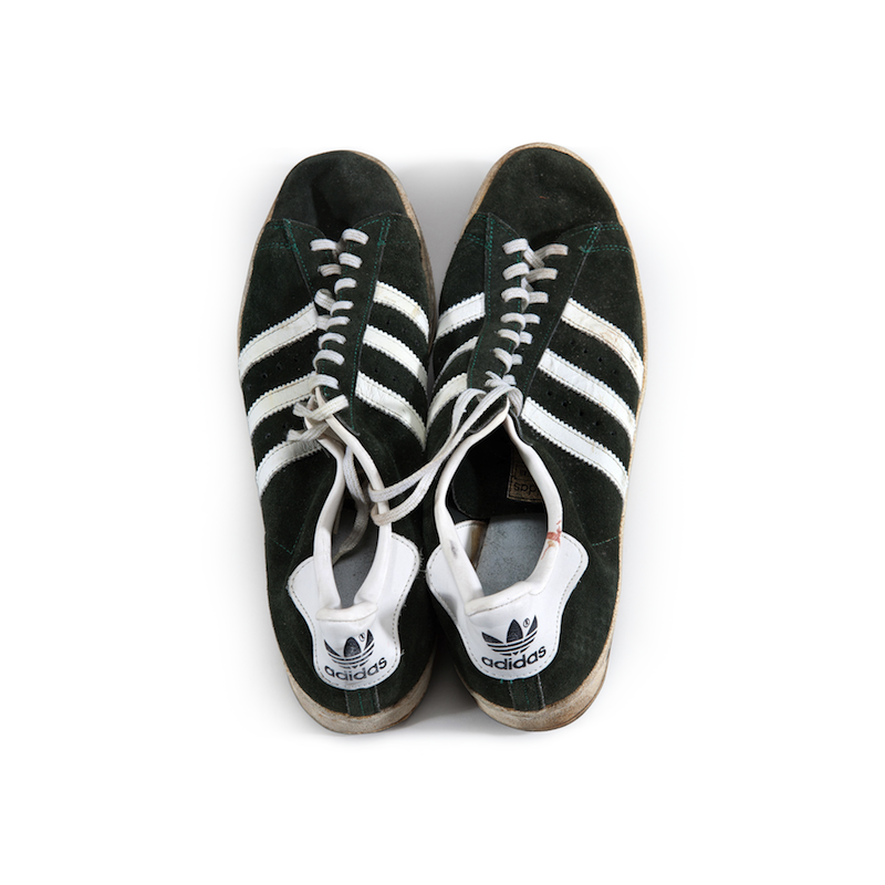 adidas Superstar : John Havlicek's signed, game worn (1978)