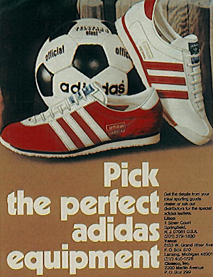 adidas training shoes ad 1974
