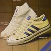 """""""Stars and Stripes"""" アディダス・アブドゥル・ジャバー・ホワイト(adidas Abdul-Jabbar white)シューティング・スター(Shooting Star)プロモデル(Promodel)"""