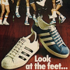 """LOOK AT THE FEET …"" アディダス・スーパースター(Adidas Superstar) / アディダス・トーナメント(Adidas Tournament)"
