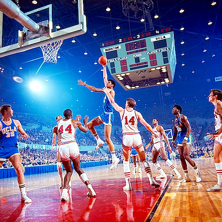 Lew Alcindor / Elvin Hayes UCLA vs Houston