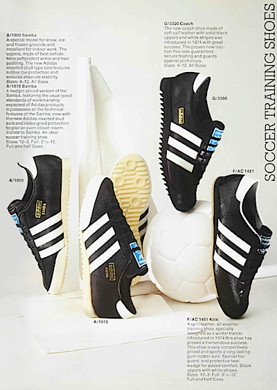 adidas soccer training shoes 1975 uk