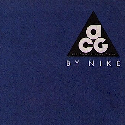 ACG (All Conditions Gear) By Nike