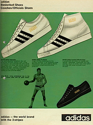 adidas 1968-1969, Olympic Catalogue