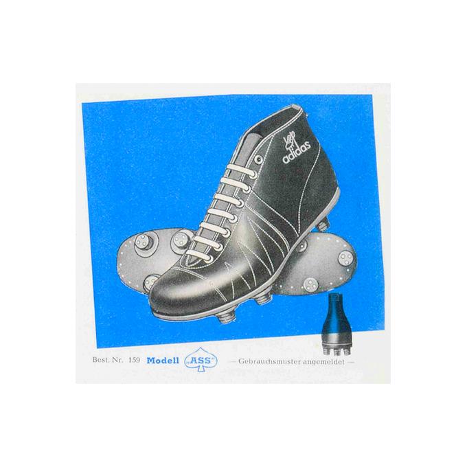 """adidas """"Ass"""" Football Boots (1949)"""