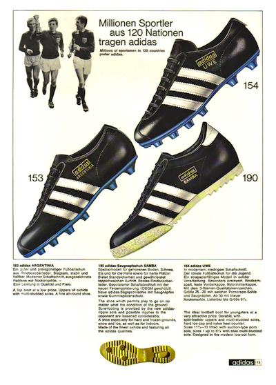 adidas German Catalog (1968-1969)