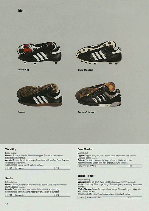 World Cup, Copa Mundial, Samba, Torsion Indoor (1992)