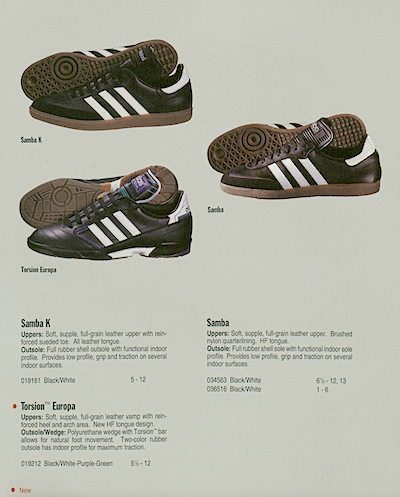 adidas indoor shoes 1992 USA