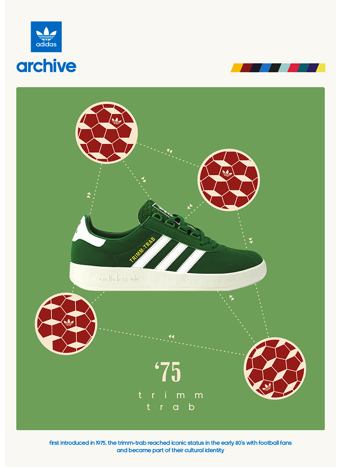 "adidas Originals Trimm Trab ""seasonal green"" size? UK exclusive (2014)"
