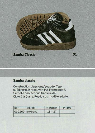 Samba Classic for baby (1991-1992)