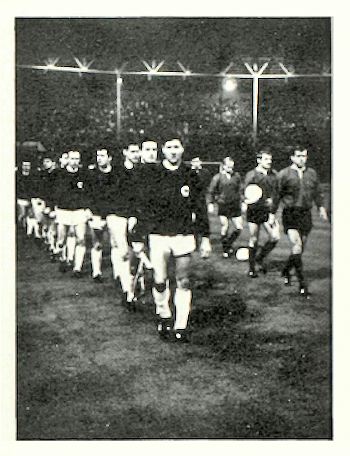 Football Match England vs Germany 23-2-1966