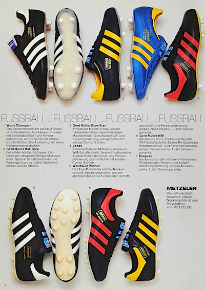 adidas catalogue german 1975