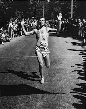 Tom Fleming won the New York City Marathon 1975