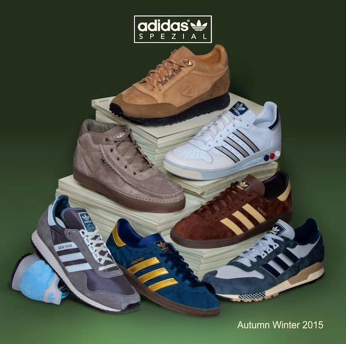 adidas Spezial 2015AW footwear