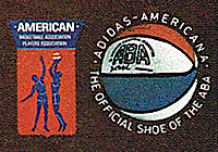 ADIDAS AMERICANA THE OFFICIAL SHOE OF THE ABA