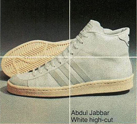 Abdul Jabbar White high-cut