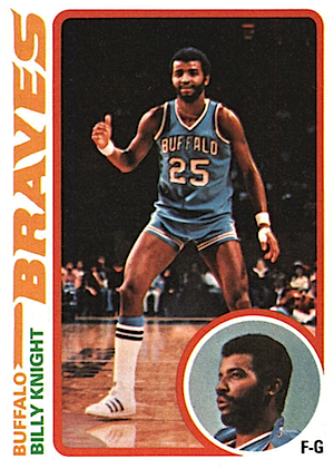 Billy Knight Topps card 1978-1979