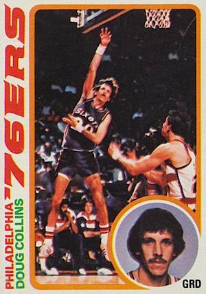Doug Collins Topps card 1978-1979