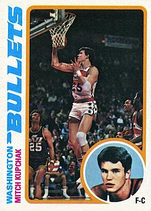 Mitch Kupchak Topps card 1978-1979