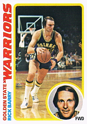 Rick Barry Topps card 1978-1979
