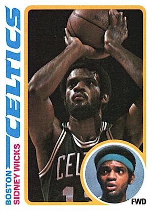 Sidney Wicks Topps card 1978-1979