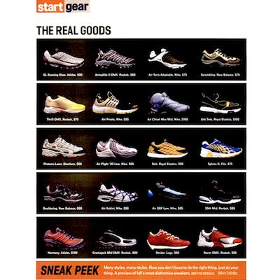 Vibe Magazine 2000/08 sneaker