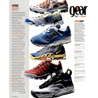 Vibe Magazine Sneak peek 1998/8 sneaker